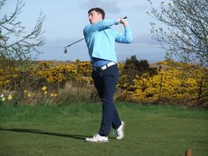 Jamie Sinnamon in action